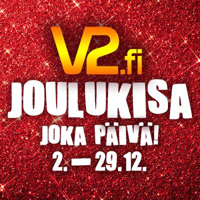 V2.fi:n joulukisa - Voittaja joka päivä!