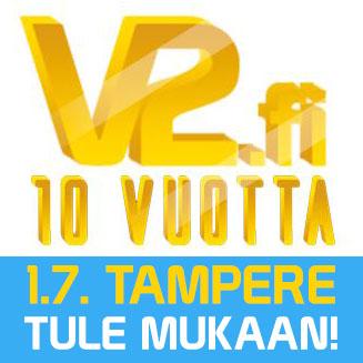 V2.fi 10 vuotta - tule mukaan!